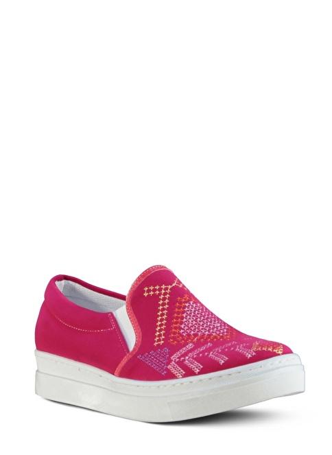 Marjin  Casual Ayakkabı Fuşya